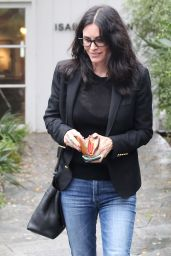 Courteney Cox Street Style - Out in LA 1/12/ 2017