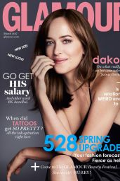 Dakota Johnson - Glamour Magazine UK March 2017 Cover and Photo