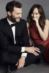 Dakota Johnson & Jamie Dornan - Paris Match Photoshoot - January 2017