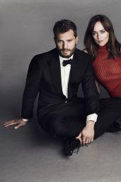 Dakota Johnson & Jamie Dornan - Paris Match Photoshoot - January 2017