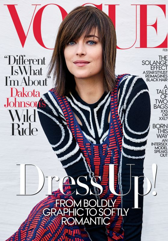 Dakota Johnson - Vogue February 2017 Cover
