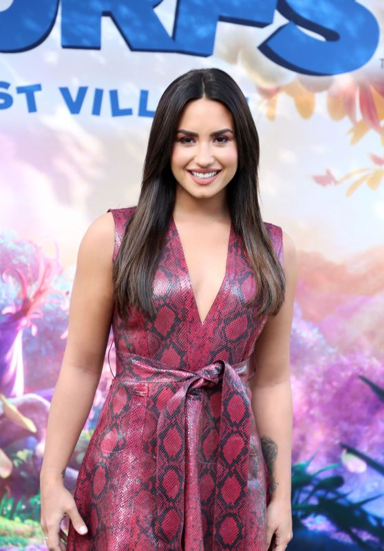 Demi Lovato - 'Smurfs: The Lost Village' Photocall in Los Angeles 1/18/ 2017