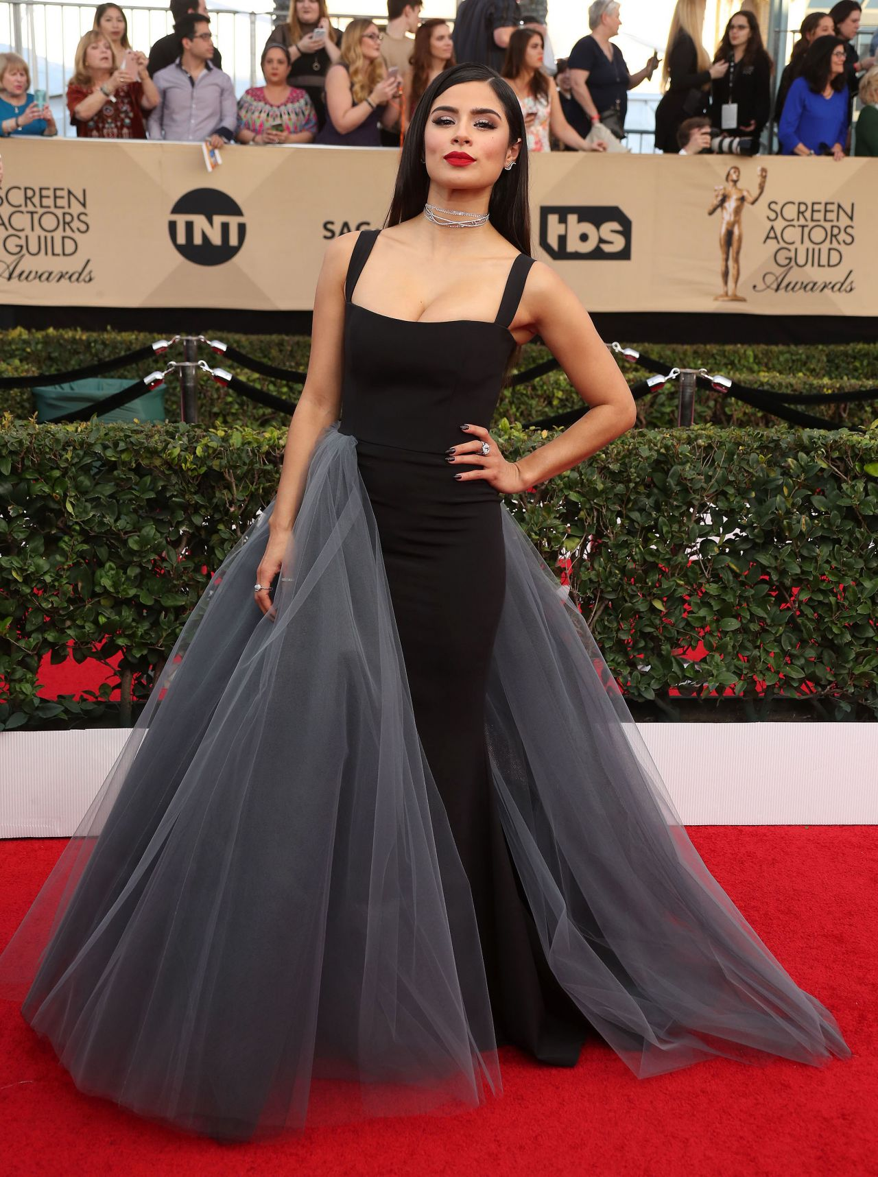 Diane Guerrero Sag Awards In Los Angeles 1 29 2017