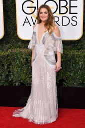 Drew Barrymore - Golden Globe Awards in Beverly Hills 01/08/ 2017