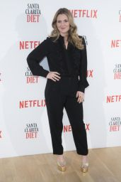 Drew Barrymore - Santa Clarita Diet TV Show Photocall in Madrid 1/19/ 2017