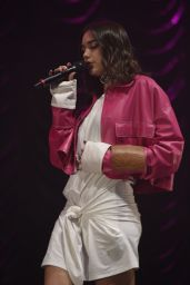 Dua Lipa - Performing at Metro Radio Christmas Live in Newcastle, December 2016