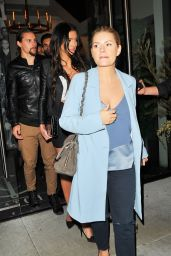 Elisha Cuthbert Style - at Catch in West Hollywood 1/28/ 2017