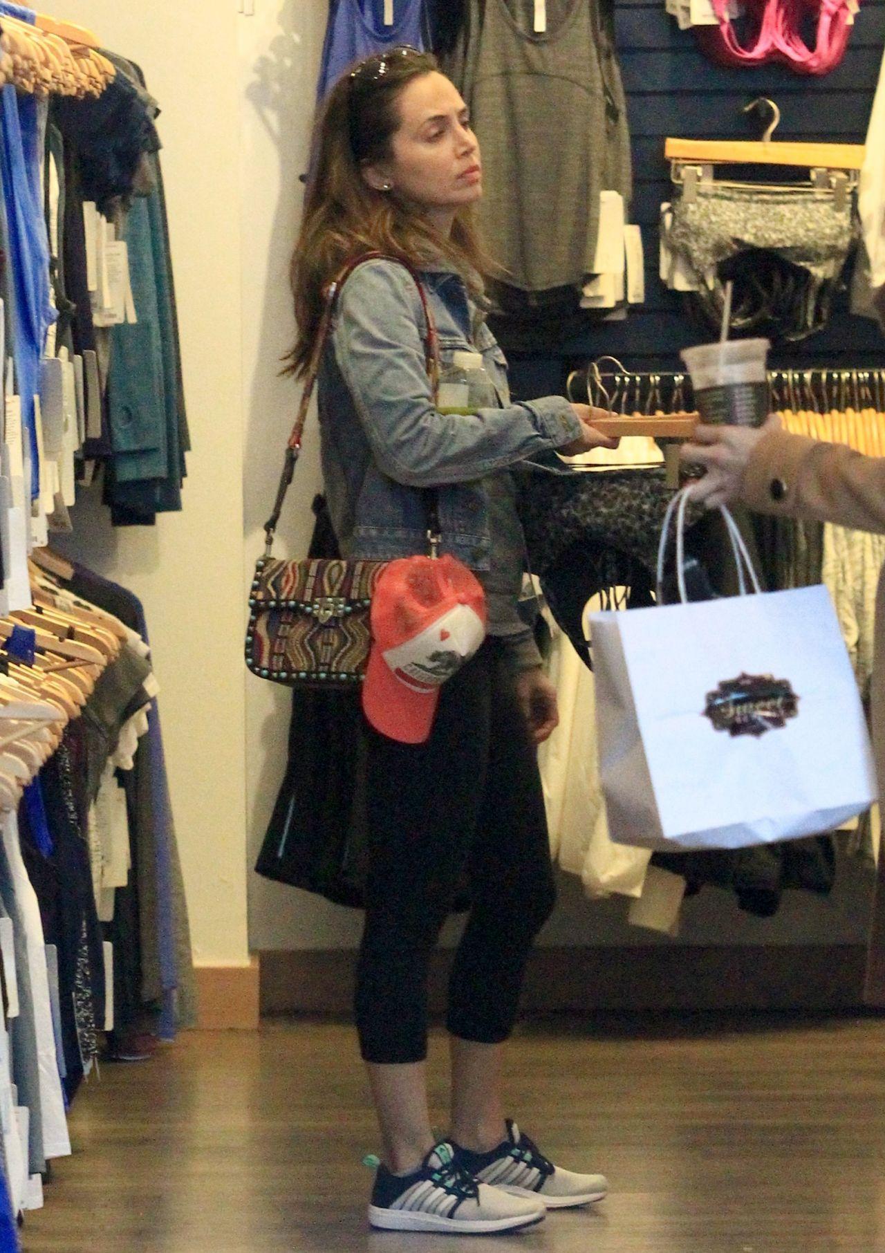 Eliza Dushku - Shopping in Beverly Hills 1/16/ 2017