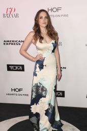 Elizabeth Gillies – Harper's Bazaar 150 Most Fashionable Woman Cocktail Party in LA 1/27/ 2017