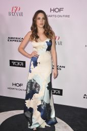 Elizabeth Gillies – Harper's Bazaar 150 Most Fashionable Woman Cocktail Party in LA 1/27/ 2017