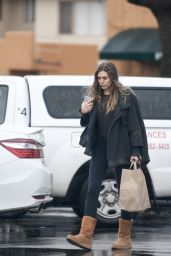 Elizabeth Olsen - Shopping in Los Angeles 1/23/ 2017
