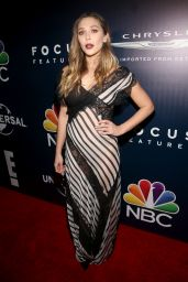 Elizabeth Olsen - Universal, NBC, Focus Features, E! Golden Globes After Party in Beverly Hills 1/8/ 2017