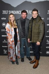 Elizabeth Olsen - Wind River Premiere at 2017 Sundance Film Festival in Park City
