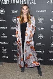 Elizabeth Olsen - Wind River Premiere at 2017 Sundance Film Festival in Park City