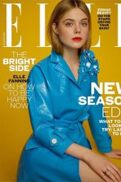 Elle Fanning - ELLE Magazine UK February 2017 Cover and Photos