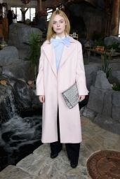 Elle Fanning - Glamour and Girlgaze Sundance Lunch in Park City, Utah 1/24/ 2017