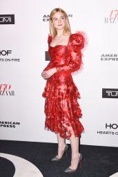 Elle Fanning – Harper's Bazaar 150 Most Fashionable Woman Cocktail Party in LA 1/27/ 2017