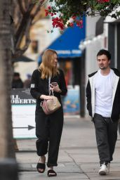 Elle Fanning - Leaves a Late Lunch in Studio City 12/31/ 2016
