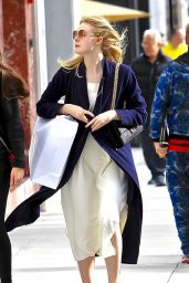 Elle Fanning - Shopping in Beverly Hills 1/21/ 2017