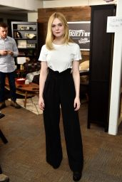 Elle Fanning - Variety Studio at Sundance, Park City 1/23/ 2017