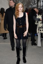 Ellie Bamber - Chanel Haute-Couture Collection Spring-Summer 2017 in Paris 1/23/ 2017
