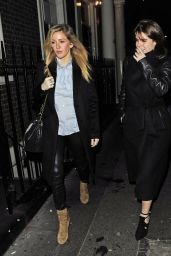 Ellie Goulding - Leaving the Arts Club in London 1/25/ 2017