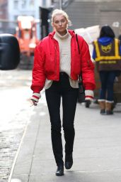 Elsa Hosk - Out in NYC 1/11/ 2017