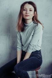 Emily Browning - The Hollywood ReporterPhotoshoot 2017