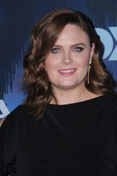 Emily Deschanel – FOX Winter TCA All Star Party in Pasadena, CA 01/11/ 2017
