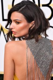 Emily Ratajkowski – Golden Globe Awards in Beverly Hills 01/08/ 2017