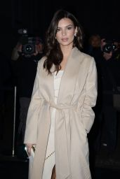 Emily Ratajkowski - Juventus Black and White and More Party in Milan, Italy 1/16/ 2017