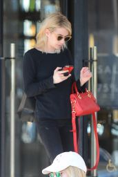 Emma Roberts and Lea Michele - Shopping at Barneys New York in Beverly Hills 1/6/ 2017