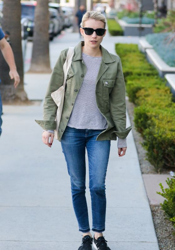 Emma Roberts - Running Errands in West Hollywood, CA 1/17/ 2017