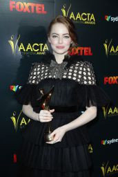 Emma Stone - AACTA International Awards in Los Angeles 1/6/ 2017