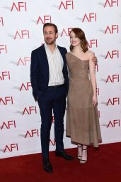Emma Stone - AFI Awards Luncheon - Arrivals - Los Angeles 1/6/ 2017
