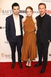 Emma Stone – BAFTA Tea Party in Los Angeles 1/7/ 2017