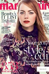 Emma Stone - Marie Claire Australia February 2017 Issue