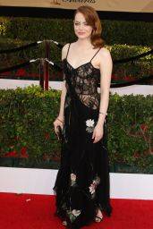 Emma Stone – SAG Awards in Los Angeles 1/29/ 2017 (Part II)