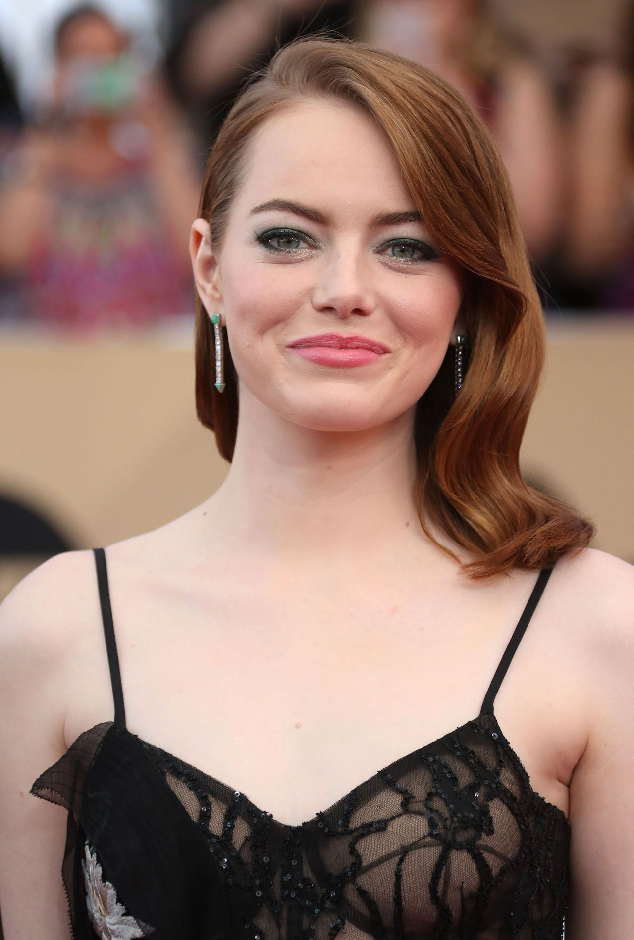 Emma Stone – SAG Awards in Los Angeles 1/29/ 2017 (Part II) Emma Stone