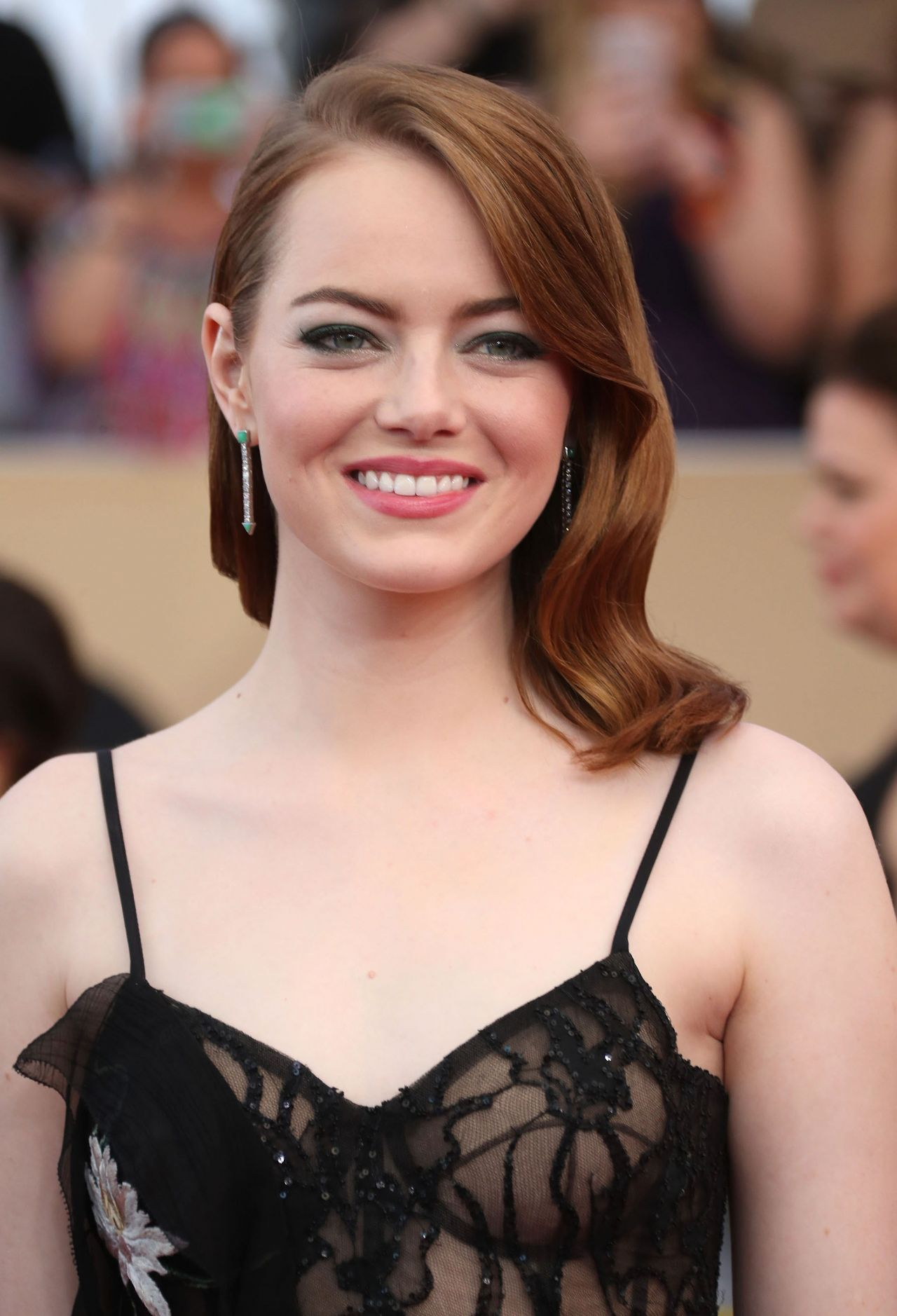 Emma Stone Sag Awards In Los Angeles 1 29 2017 Part Ii