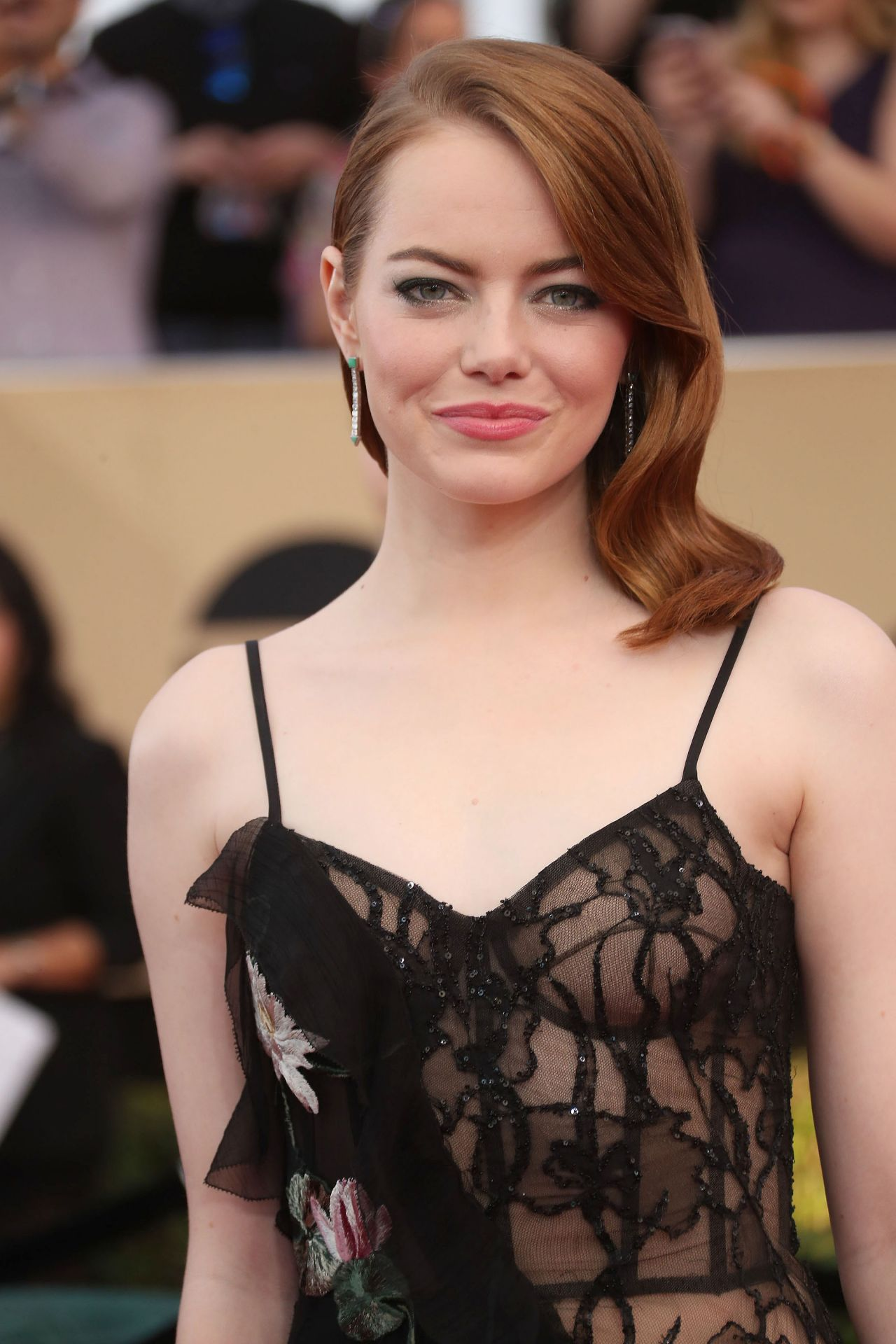 Emma Stone  Sag Awards In Los Angeles 129 2017 Part Ii-7271