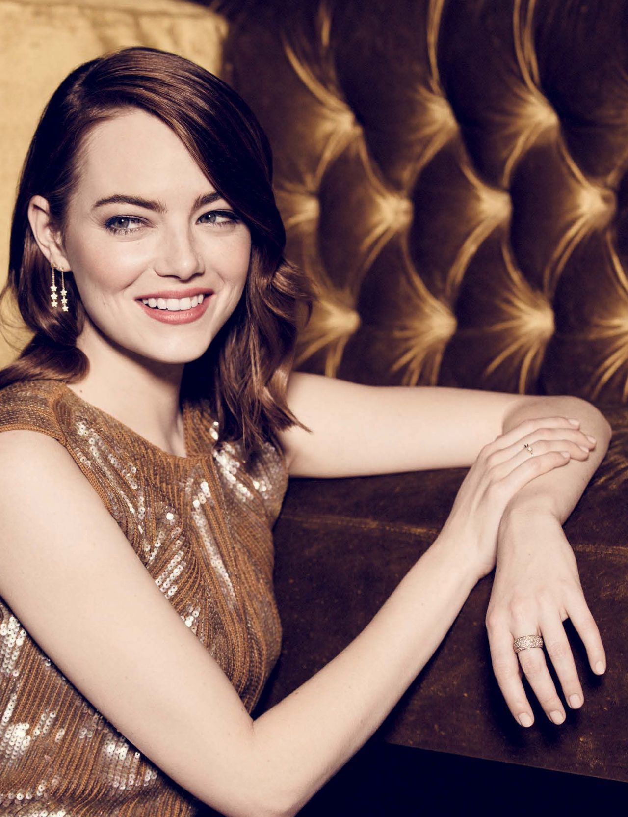 Emma Stone - The Hollywood Reporter February 2017 Issue Emma Stone