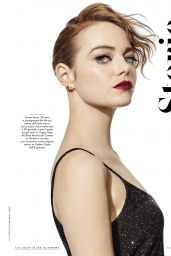 Emma Stone - Vanity Fair Magazine, Italy January 2017 Issue