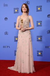 Emma Stone - Wins Best Actress in a Musical at the 2017 Golden Globes