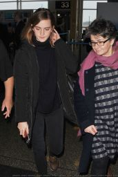Emma Watson - Arrives in Washington, DC 1/20/ 2017