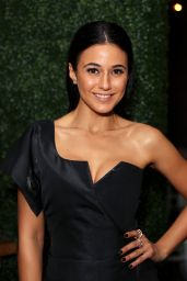 Emmanuelle Chriqui – Marie Claire's Image Maker Awards in West Hollywood 1/10/ 2017
