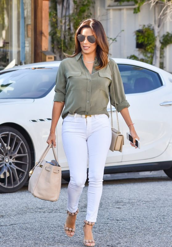 Eva Longoria Style - Out in Los Angeles 1/25/ 2017