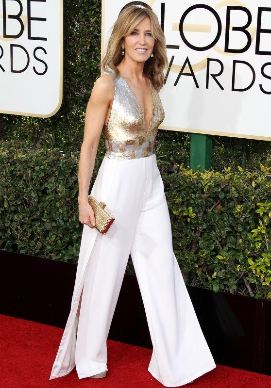 Felicity Huffman – Golden Globe Awards in Beverly Hills 01/08/ 2017