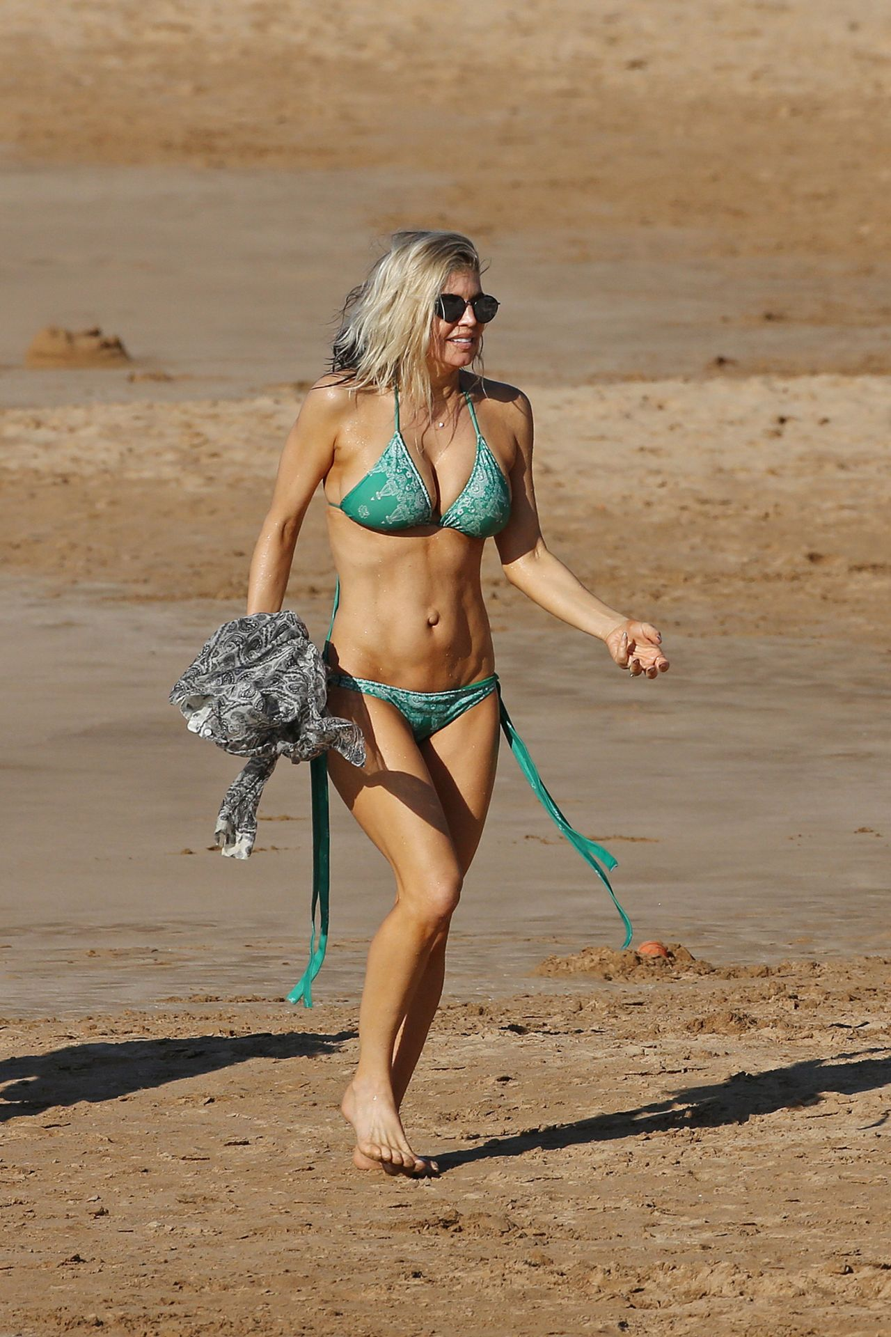 Fergie Red Bikini