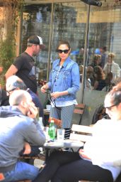 Gal Gadot - Steps Out With Husband Yaron Varsano in Israel 1/1/ 2017